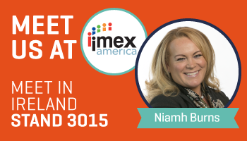 Meet Niamh at IMEX