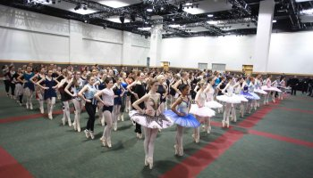 Monica Loughman Ballet world record attempt