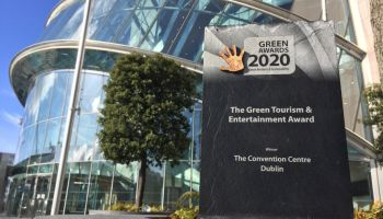 The Convention Centre Dublin wins The Green Tourism and Entertainment Award