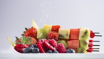 Breakfast Bites Menu - Fresh Fruit Skewers