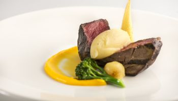 Fine Dining Menu - Beef Main