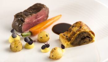 Fine Dining Menu - Beef Wellington Main