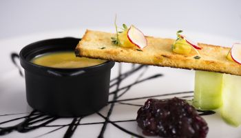 Fine Dining Menu - Chicken Liver Parfait