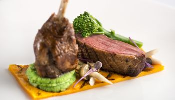 Fine Dining Menu - Lamb Main