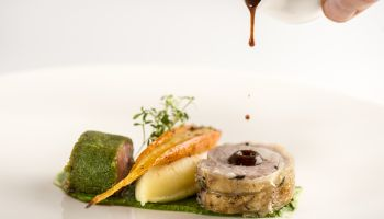 Fine Dining Menu - Pork Main